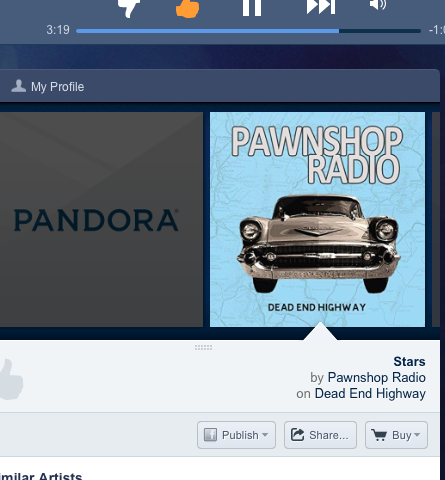 Now Streaming on Pandora!